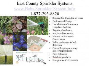 San Diego Sprinkler System Repair